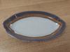 כלי אובל מלמין לקבלת פנים שמנת דגם נועם 19x10.5x3