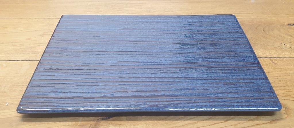 פלטה מלמין 1/1 53X32.5 כחולה דגם קורל