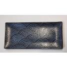 מגש 1/3 מלמין דגם אופק כחול 32.5x17.6cm GN1/3 Tray