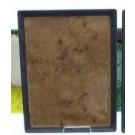 פלטה שטוחה מלמין 1/2 (32.5X26.5) חום דגם ארבל