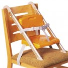 כיסא תינוק מתלבש