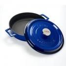 """סוטאז' יציקה ברזל 28 ס""""מ 3.4 ליטר כחול"""